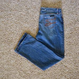Seven 7 Studio Women's Flare Jeans - 10